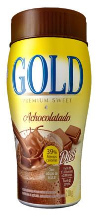 Nova formulação do Achocolatado Gold Premium Sweet