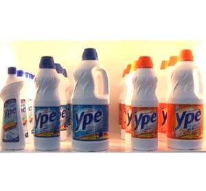 Ypê entra no segmento de produtos clorados com embalagens modernas
