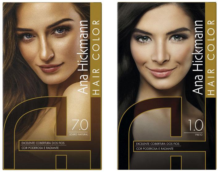 123ad922d8862 Congraf produz embalagens para a nova linha de coloração Ana Hickmann