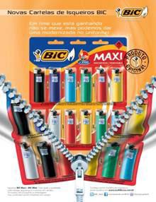 BIC Mini e Maxi com embalagens repaginadas