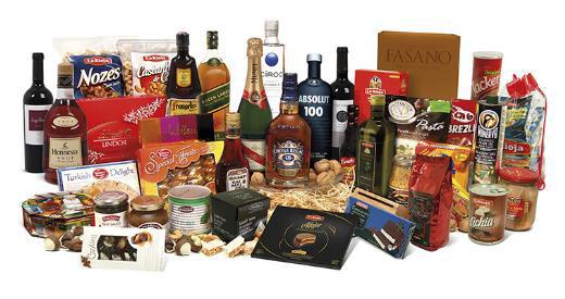 Cestas de Natal La Rioja, diversos tamanhos e embalagens