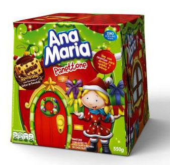 Com embalagem inovadora, Ana Maria apresenta novidades para o Natal 2011