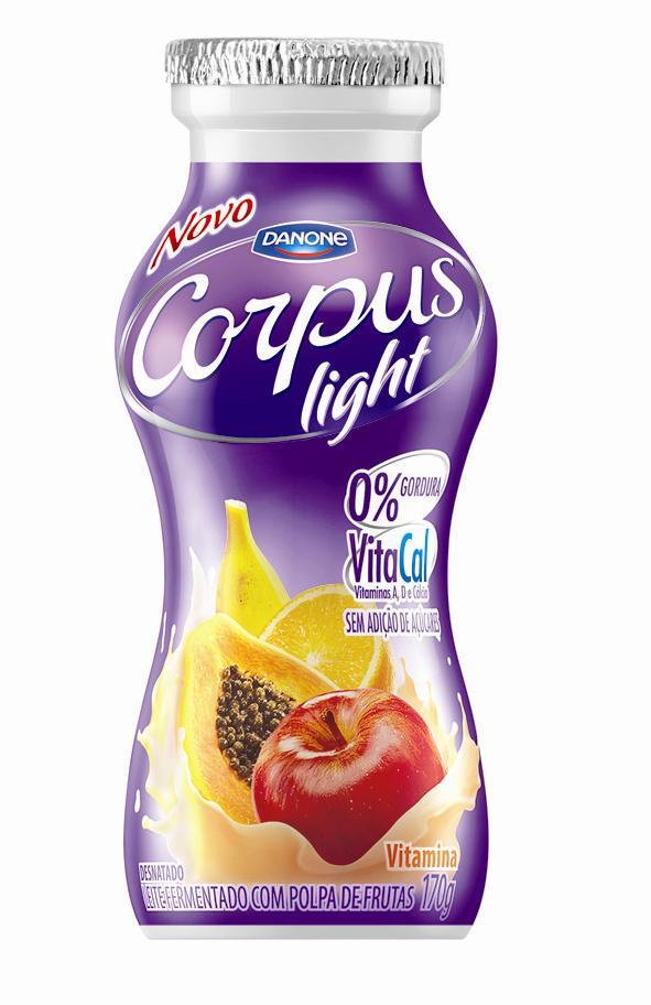 Corpus Vitamina é nova opção Danone