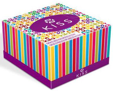 Embalagem inovadora da Kiss serve como decoração