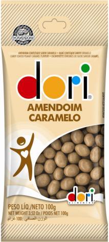 Novo sabor do amendoim confeitado da Dori chega ao mercado com a nova identidade visual da marca
