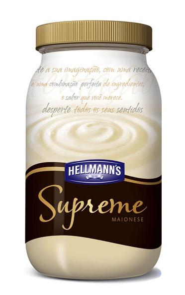 Nova Hellmann's Supreme, uma embalagem sofisticada para uma maionese diferenciada
