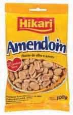 Hikari lança novos sabores de petiscos de amendoim com 0% de gordura trans
