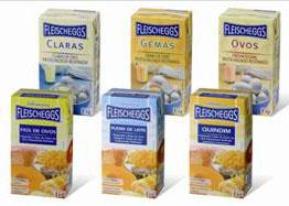 No Brasil, a AB Brasil utiliza a embalagem cartonada em sua linha de ovos, inclusive com opções de misturas para sobremesas