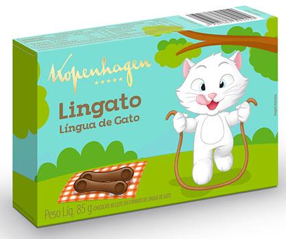 Lingato Língua de Gato
