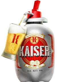 Kaiser Barril chega ao mercado