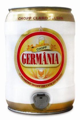 Lata de chopp de 5 litros é sugestão da Germânia para o Dia dos Pais
