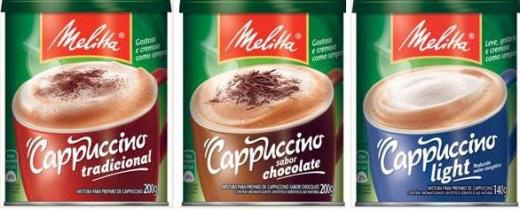 Linha Cappuccino Melitta, agora em embalagem 100% reciclvel