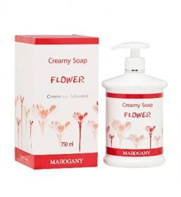Mahogany lança Flower Sabonete em Creme em charmosa embalagem