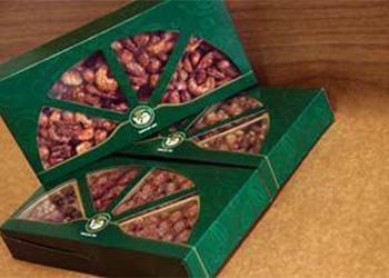 Nova embalagem presenteável chega aos quiosques Nutty Bavarian