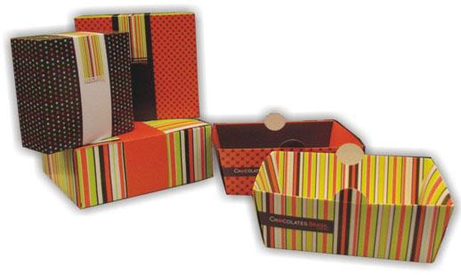 Novas caixas para a Chocolates Brasil Cacau