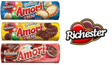 Biscoitos Amori da Richester, novos sabores em embalagens modernas