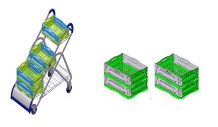 Opção para substituir as sacolas plásticas