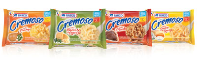 Panco lança Lámen Cremoso em quatro sabores com embalagem destacando a nova linha