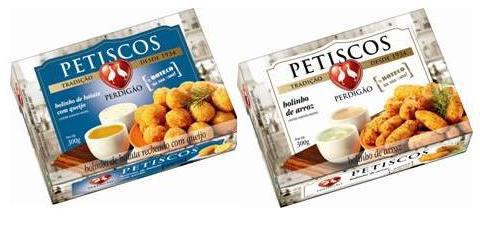 Perdigão inova conceito da linha Petiscos com embalagens reformuladas e sabores inéditos