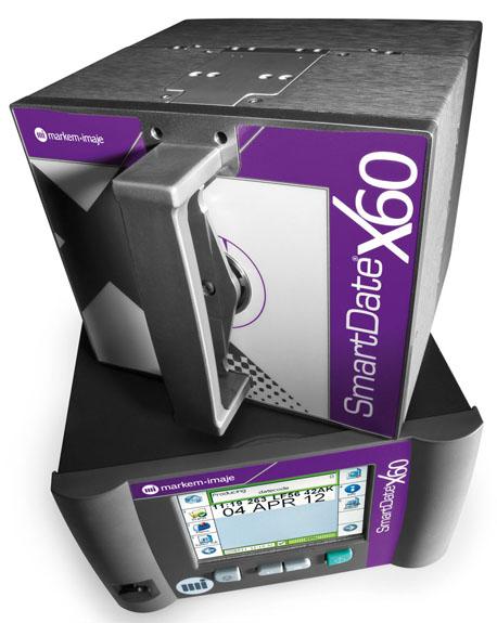 SmartDate X60, maior velocidade de operação para impressão em embalagens flexíveis, laminados e etiquetas