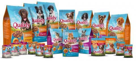 Alimentos pets Qualidy ganha novo design de embalagens