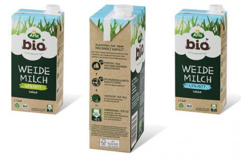 Arla Foods adota a inovadora embalagem Signature Pack da SIG