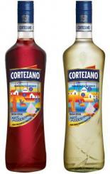 A Arte Moderna nos rótulos do Vermouth Cortezano