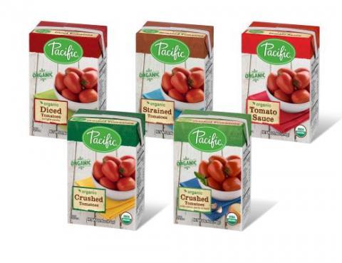 Pacific Foods lança linha de atomatados em embalagem da SIG Combibloc