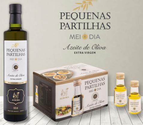 Vinícola Aurora lança azeite extra virgem chileno com duas opções de embalagem