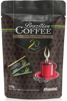 Bala Brazilian Coffee em edição comemorativa de 20 anos