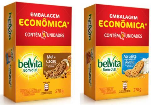 BelVita apresenta sua embalagem econômica