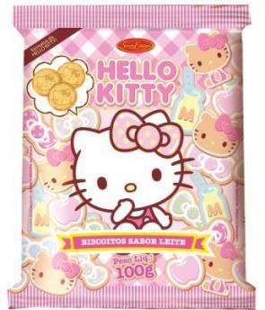 Santa Edwiges apresenta nova embalagem do biscoito Hello Kitty