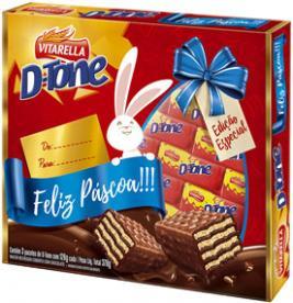 Vitarella lança embalagem comemorativa do chocolate D-tone para a Páscoa