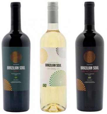 Vinhos Brazilian Soul ganham prêmios de design de embalagens