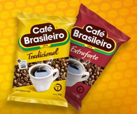 Café Brasileiro ganha novas embalagens
