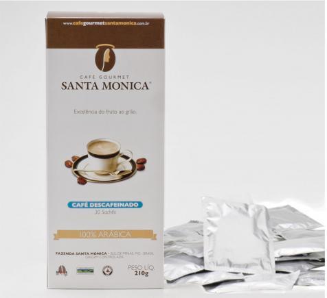 Café Gourmet Santa Monica lança linha de sachês na Fispal Food Service
