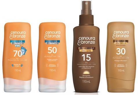 Cenoura & Bronze lança novas embalagens