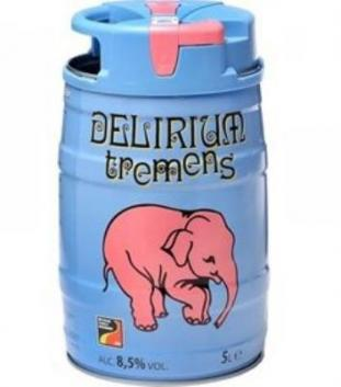 The Beer Planet apresenta clássica Delirium Tremes na versão barril