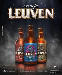 Leuven estreia 1º rótulo de cerveja do Brasil em realidade aumentada