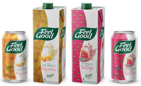 Chás Feel Good com pitaya e physalis chegam ao mercado