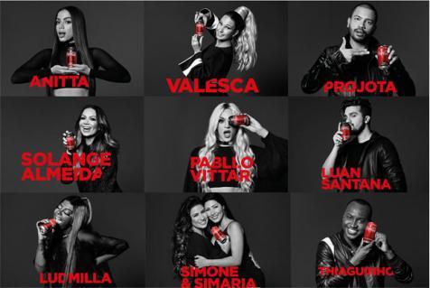 Coca-Cola lança campanha de música com linguagem de videoclipe