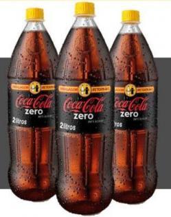 Coca-Cola Zero em embalagens PET retornáveis agora em Minas Gerais