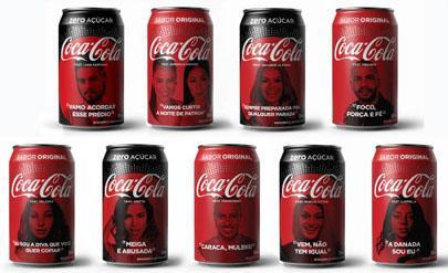 Artistas estampam novas latas da Coca-Cola em campanha de verão