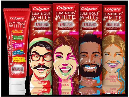Colgate Luminous White lança edição limitada com diversas personalidades