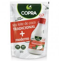 Copra lança leite de coco de 200 ml na exclusiva embalagem stand-up pouch
