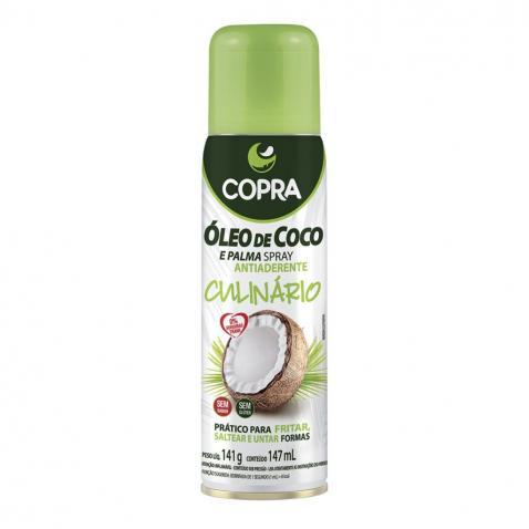 Copra lança Óleo de Coco em Spray para uso culinário