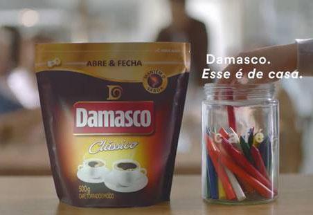 Damasco lança campanha para anunciar nova embalagem