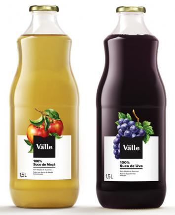 Del Valle 100% Origens marca estreia da embalagem de vidro em sucos da Coca-Cola