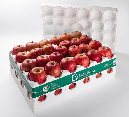 Embalagem de maçã DaColheita é finalista do Prêmio ABRE