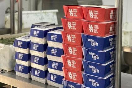 Campanha #EmbalagemSolidária distribui mais de 40 mil embalagens para pequenos restaurantes